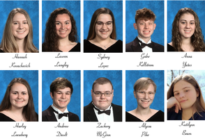 Top 10 Oscoda Area High School Seniors 2020
